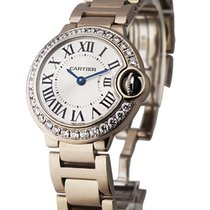 Cartier WE9003Z3 Ballon Bleu ladies 28mm in White Gold wiith...