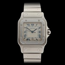 Cartier Santos Galbee Stainless Steel Unisex 1564
