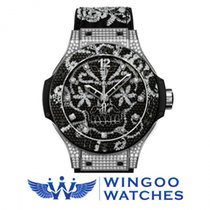Hublot BRODERIE STEEL DIAMONDS Ref. 343.SX.6570.NR.0804