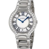 Ebel 1216071 Beluga Grande Sertie in Steel with Diamond Bezel...