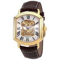 Aerowatch 1942 Arcada Men's Hand Wound Leather Watch