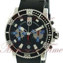 Ulysse Nardin Maxi Marine Diver Chronograph 42.7mm, Black Dial...