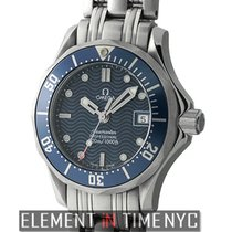 Omega Seamaster 300 M Ladies 28mm Stainless Steel Blue Dial