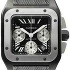 Cartier Santos 100 Chronograph Mens Watch
