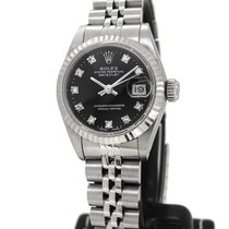 Rolex Oyster Perpetual Datejust 69174G, Orig. Diamond Index W...