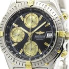 Breitling Chronomat 18k Gold Steel Automatic Watch B13352...