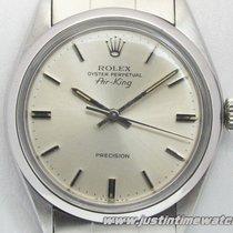 Rolex Vintage Air-King 5500 quadrante argento