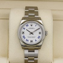 Rolex Oyster Perpetual - 31mm - 177200 - White w/ Blue Roman...