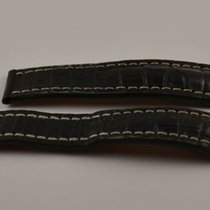 Breitling Kroko Leder Armband Band 22mm 22-20 Für Faltschliess...