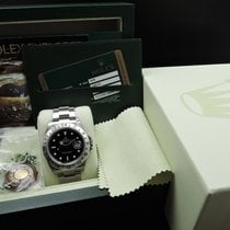 Rolex EXPLORER 2 16570 Black Dial Full Set