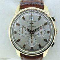 Longines conquest chronograph gold