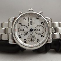 Montblanc 7201 ref. 106468 Meisterstuck Chrono automatic, with...