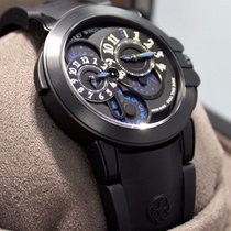 Harry Winston Ocean Dual Time Limited Edition Zalium /dlc...