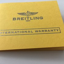 Breitling International Warranty Blank