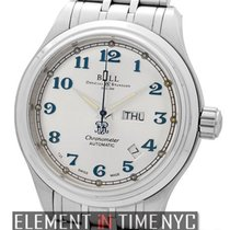 Ball Trainmaster Cleveland Express Day-Date 41mm Silver Dial