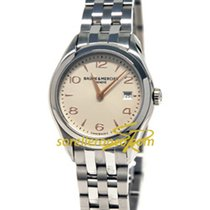 Baume & Mercier Clifton Quartz Silver - 10175