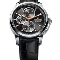 Maurice Lacroix Pontos Chornographe 43mm Mens Automatic in Steel