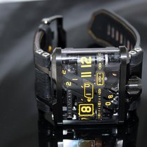 Devon Tread 1 F, Back Skeleton Dial Rotating Belt Time Display