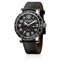 Graham Silverstone GMT Time Zone Black
