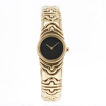 Bulgari Vintage  Parentesi Bj01 18k Solid Yellow Gold Watch...