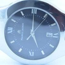 Maurice Lacroix Herren Uhr 40mm Stahl/stahl Quartz Mit Orig. Band