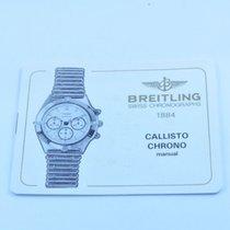 Breitling Anleitung Manual Chrono Callisto