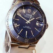 Tudor Blue Dial/Bezel Chrono-Time Prince Oysterdate 9121/0