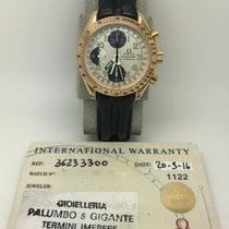 Omega Speedmaster Triple Date Calender Chronograph 18K RG