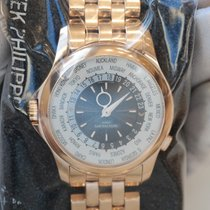 Patek Philippe World Time 40 multi-colored dial in full rose...