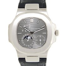 百達翡麗 (Patek Philippe) New  Nautilus White Gold Dark Grey...