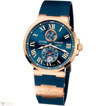 Ulysse Nardin Maxi Marine Chronometer 18k Rose Gold Men's...