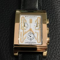 Bulgari Rettangolo yellow gold RTC 49 G chronograph