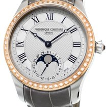 Frederique Constant Manufacture Moonphase Gold Steel Womens...