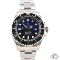 Rolex Sea-Dweller Deepsea | James Cameron Deep Blue Dial | D-Blue