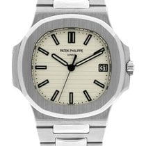 Patek Philippe stainless steel Nautilus One year full warranty.