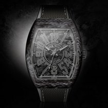 Franck Muller New Vanguard   black Carbon