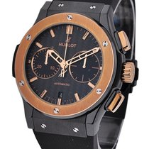Hublot Classic Fusion 45mm Chronograph with Rose Gold Bezel