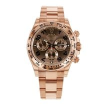 Rolex DAYTONA 18K Everose Gold Chocolate Watch 2017