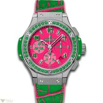 Hublot Big Bang 41 MM Pop Art Automatic Chronograph Stainless...