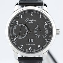 Glashütte Original Stainless Black Observer W10014020204 New...