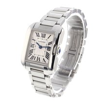 Cartier Tank Anglaise Quartz No Date Ladies watch W5310022