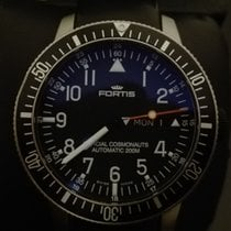 Fortis B-42 OFFICIAL COSMONAUTS DAY-DATE 647.27.11K TITANIO