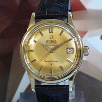 Omega Constellation Honey Comb Dial Automatic Wristwatch