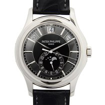 Patek Philippe New  Complications 18k White Gold Gray Automati...