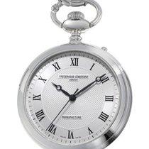 Frederique Constant Manufacture Silver Dial Pocket Watch