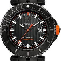 Versace Men's V-race Diver Automatic Limited Edition Watch...