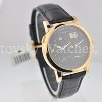 A. Lange & Söhne Lange 1 Rose Gold Black Dial