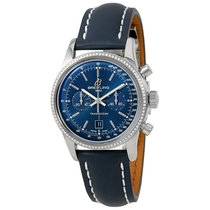 Breitling Transocean Chronograph 38 Diamond Mens Watch...