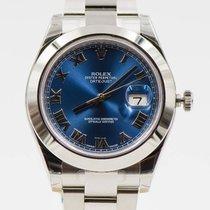 Rolex Datejust II REF. 116300 Blue roman