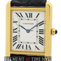 Cartier Tank Collection Tank Solo 18k Yellow Gold 27mm Quartz...